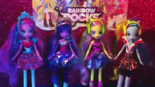 My Little Pony Equestria Girls Konseri (Twillight Sparkle,Pinkie Pie,Rainbow Dash,Fluttershy)