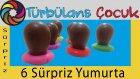 6 Adet Kinder Sürpriz Yumurta Açıyoruz | Türbulans Çocuk | 6 Kinder Surprise Eggs Unboxing