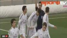 Madrid derbisinde 50 metreden avladı!...