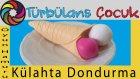 Oyun Hamuru ile Külahta Dondurma Yapımı | Türbülans Çocuk | Play Ice Cream