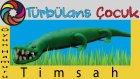Oyun Hamuru ile Timsah Yapımı | Türbülans Çocuk | Play Doh Crocodile