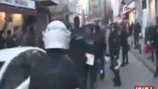 Beşiktaş'ta Polis'in Halka Saldırısı