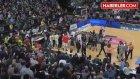 Bilbao Basket - Laboral Kutxa Maçında Ortalık Karıştı