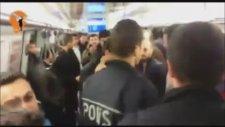 Kadıköy Metrosu'nda Karşıt Görüşlülerin Kavgasının Devamı