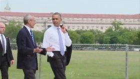 Obama'nın Sıradan Bir Gün Öğlen Gezmesine Çıkması
