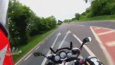 Hayatını Kaybettiği Kazayı Kayda Alan Motorcu