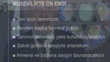 Musevilikte On Emir Nedir?