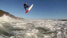 Unbelievable Kitesurfing Video: Kitesurfing in Waddell Beach, California - Edited by VideoTov
