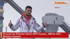 Erzurum'da Ölümden Dönen Milli Kayakçı, ABD'de Altın Madalya Kazandı