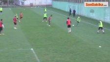 Giresunspor, Osmanlıspor Maçı Hazırlıklarına Başladı