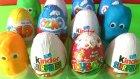 Yeni Sürpriz Yumurtalar - Kinder Sürpriz Yumurta ve Oyun Hamuru Sürpriz Yumurtalar