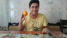 Ev Yapımı ve Organik Oda Kokusu portakaldan
