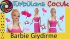 Oyun Hamuru İle Barbie Gece Kıyafeti Yapımı Türbülans Çocuk | Barbie Dressing Play Doh