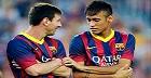 Maç öncesi Messi & Neymar