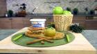 Elma Yatağında Üzümlü Pilav