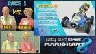 Yaşlılar Mario Kart 8 Oyununda Kapışırsa