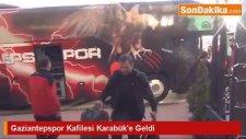Gaziantepspor Kafilesi Karabük'e Geldi