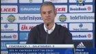 İsmail Kartal'ın Fenerbahçe - Galatasaray maçı sonrası basın toplantısı