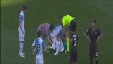 Roma'da Mattiello'nun ayağı kırıldı