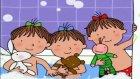 Üçüzler | Banyo Zamanı [ Çizgi Film Türkçe izle ] 2015