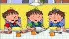 üçüzler - Kedi Besleme Zamanı ~ Türkçe Çizgi Film  izle