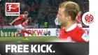 Mainz'lı futbolcudan müthiş frikik golü