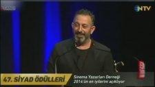 Cem Yılmaz ın  Diline Düşen Gonca Vuslateri SİYAD Ödül Töreni