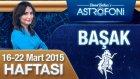 BAŞAK burcu haftalık yorumu 16-22 Mart 2015