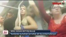 Genç Kız Metroda Tacize Uğrayınca