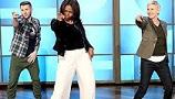 Michelle Obama Obeziteyle Mücadele İçin Dans Etti