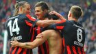 Frankfurt 4-0 Paderborn - Maç Özeti (14.3.2015)
