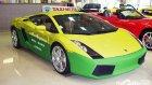 Görenleri hayrete düşüren Lamborghini taksi