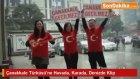 Çanakkale Türküsü'ne Havada, Karada, Denizde Muhteşem Klip