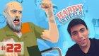 Happy Wheels Bölüm-22 | UZAKLARDAN GELEN BİR ŞUT!