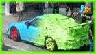 Post-it İle Porsche Kaplama Şakası