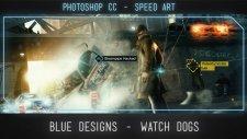 #Speed Art Photoshop CC - Watch Dogs