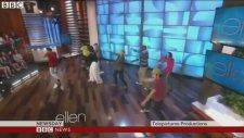Michelle Obama Televizyon Programında Dans Etti