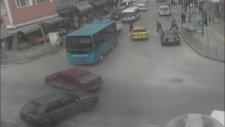 Sakar Sürücülerin Kazaları MOBESE'de