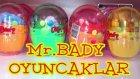 Mr. Bady Sürpriz Yumurta Oyuncak Açımı Kurmalı Hareketli Oyuncaklar