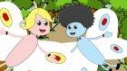 Beyaz Kelebekler Rondu - Çizge TV - Çizgi Film - Okul Öncesi - Ana Okulu - Çocuk Şarkıları
