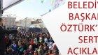 tutak belediye başkanı fırat öztürk'ün konuşması