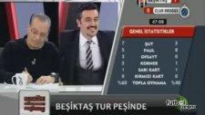 Brugge'un golleri sırasında BJK TV