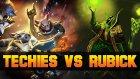 Dota 2 Techies vs Rubick