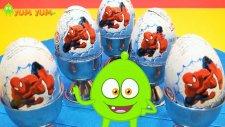 Örümcek Adam Spiderman - Sürpriz Yumurta Avcısı - YumYum Tivi