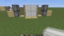 Minecraft: Otomatik Kapı Nasıl Yapılır