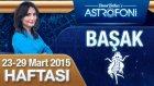 BAŞAK burcu haftalık yorumu 23-29 Mart 2015