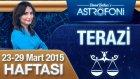 TERAZİ burcu haftalık yorumu 23-29 Mart 2015