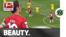Hannover'li oyuncudan Dortmund'a müthiş gol