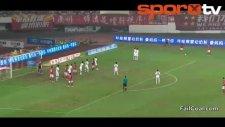 Çin'de Çılgın Gol!..