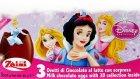 Disney Prensesler Sürpriz Yumurta Oyuncak Bebek Açma Oyun Hamuru TV